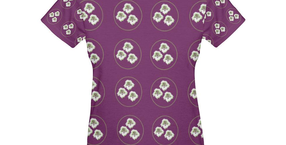 Purple Nasturtium - T-shirt
