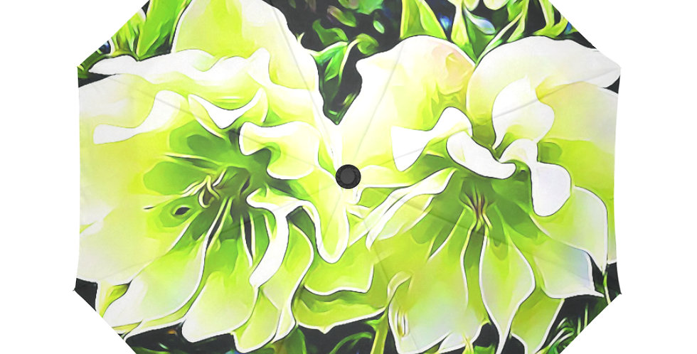 White Hellebores - Botanical Umbrella