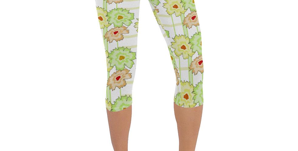 Summer Floral - Leggings 3/4