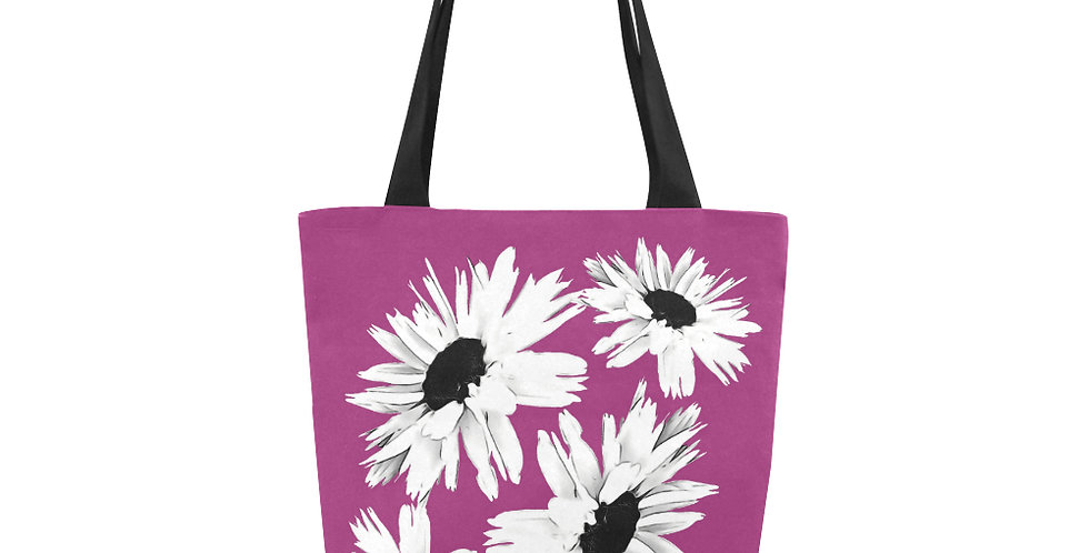 Bunch of Daisies Pink - Tote Bag