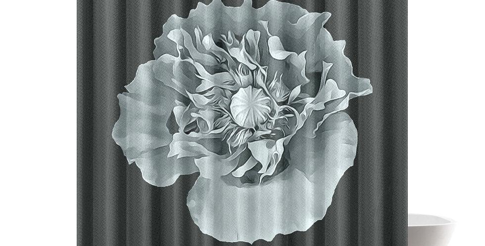 Botanical Poppy - Shower Curtain