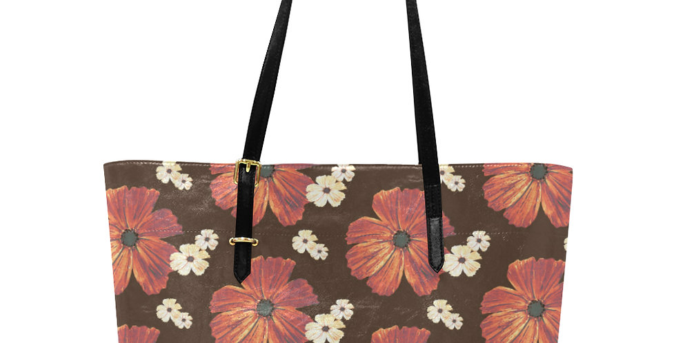 Chocolate Cosmos - Large Tote Bag