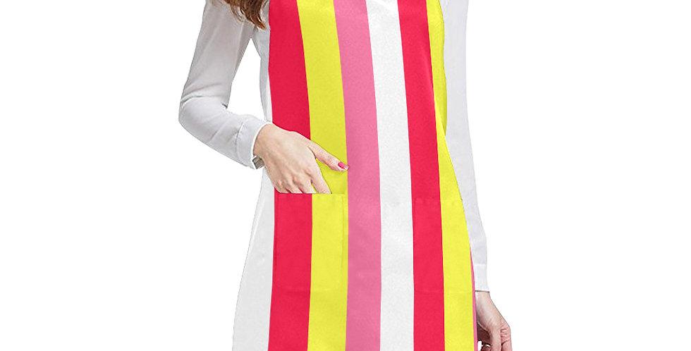 Summer Stripes Apron - Adjustable