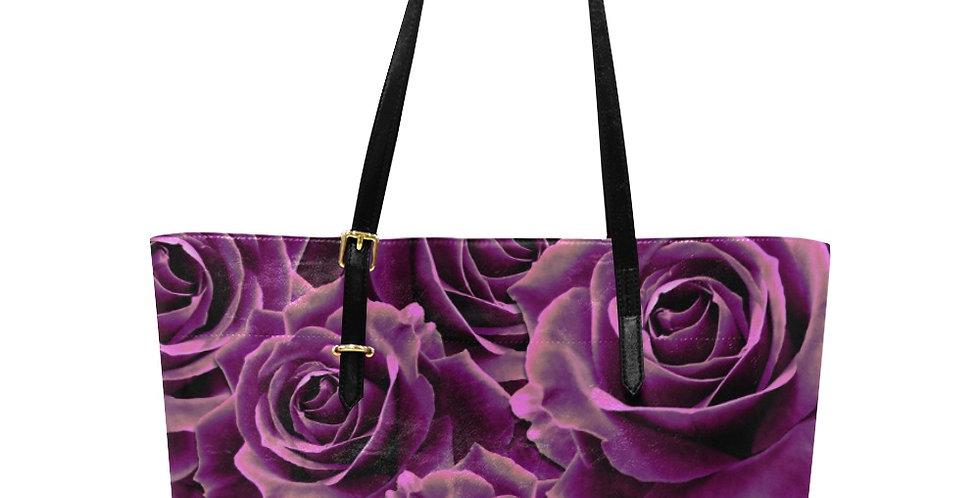 Velvet Rose Pink - Large Tote Bag