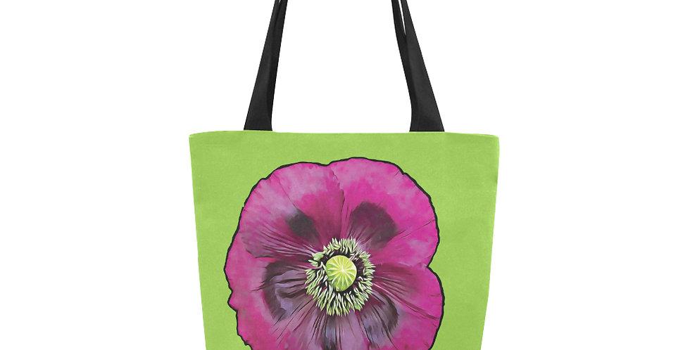 Purple Poppy - Tote Bag