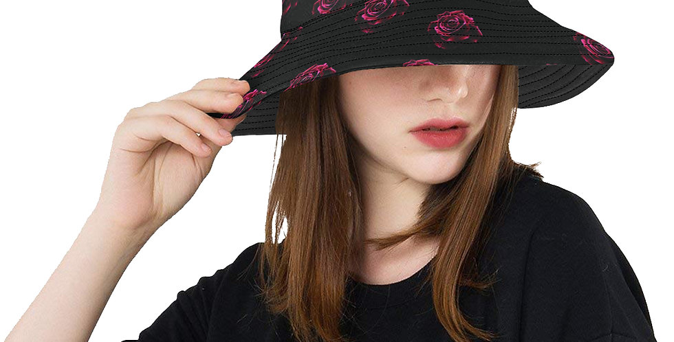 Red Roses - Bucket Hat