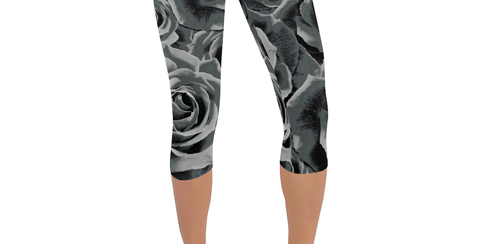 Gypsy Rose Silver Mist - Leggings 3/4