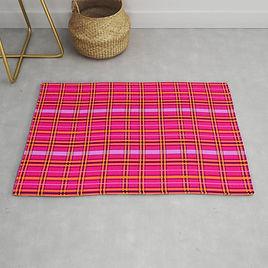 tartan-poppies-orange-pink-tartan-rugs.j