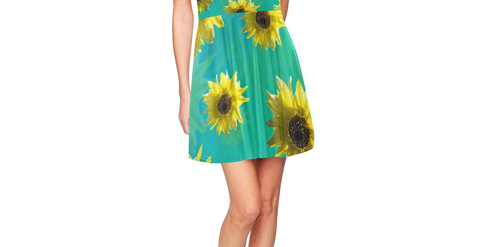 Sunflower - Skater Dress