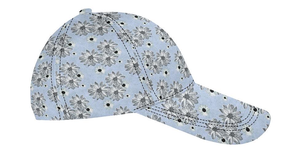 Floral Blue - Baseball Cap