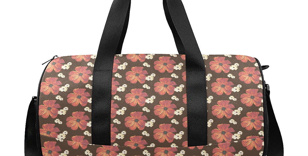 Chocolate Cosmos - Workout/Camping/Travel Duffel Bag