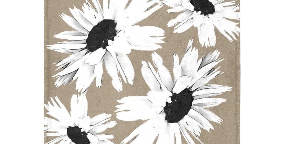 Daisy Love Beige - Blanket