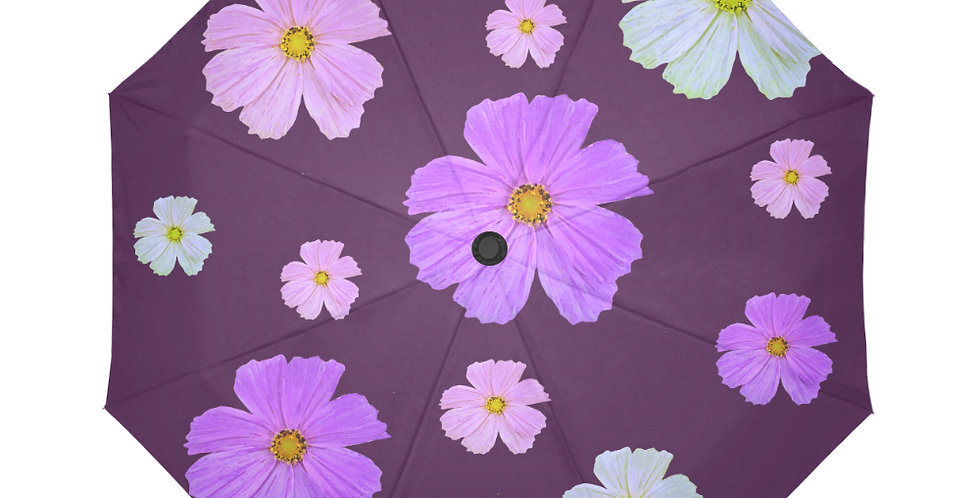 Cosmos and Wine - Botanical Umbrella
