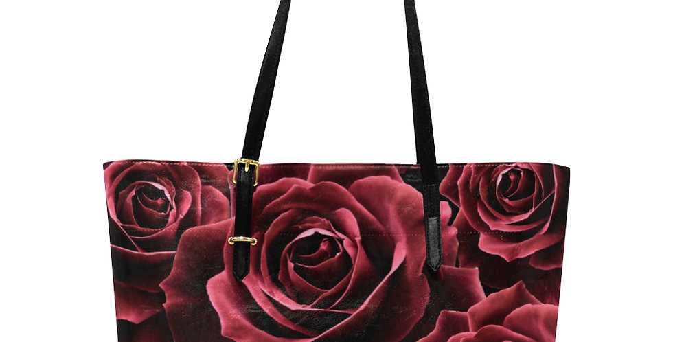 Bunch of Red Roses - Large Tote Bag