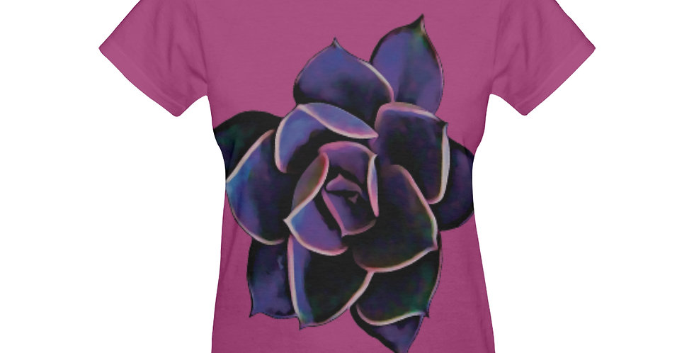 Pink Succulent - T-shirt