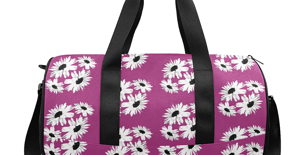 Bunch of Daisies Pink - Gym / Workout / Camping / Travel Duffel Bag