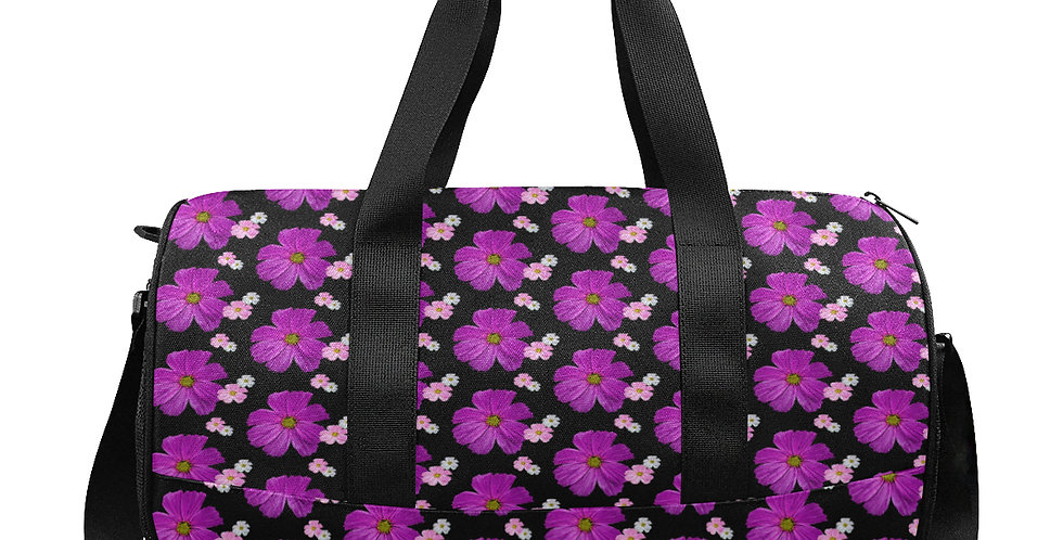 Cosmos Chaos Pink - Gym / Workout / Camping / Travel Duffel Bag