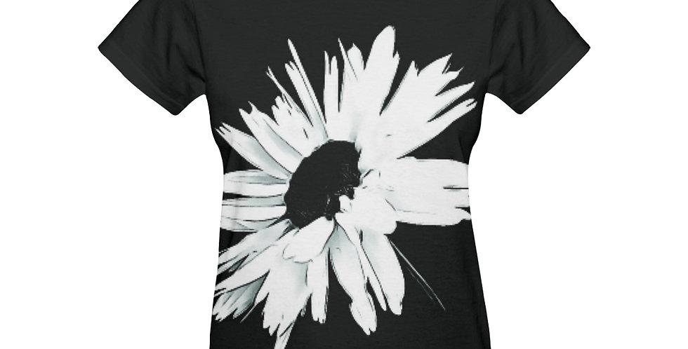 Daisy Love Black and White - T-shirt