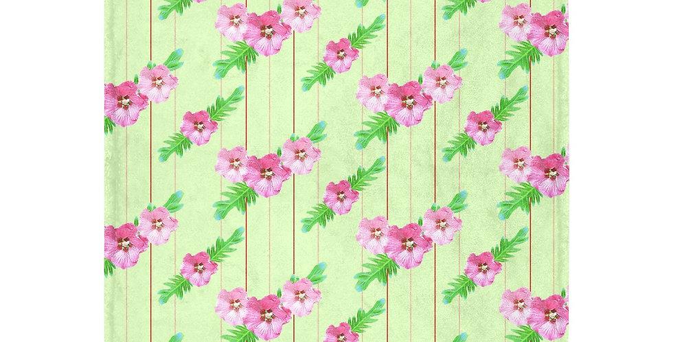 Xanadu - Green (small print) - Blanket