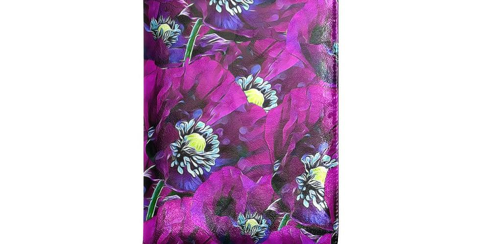 Poppies Purple - Journal