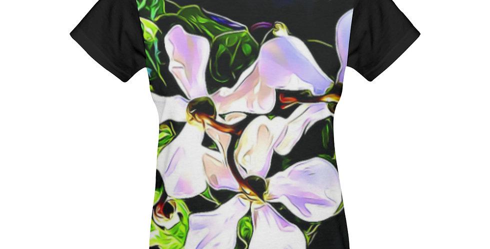 Cyclamen Swirl - T-shirt