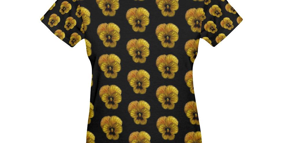 Pansy Tiger (small) - T-shirt