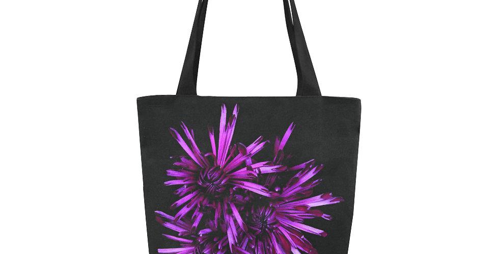 Magenta Chrysanthemums - Tote Bag