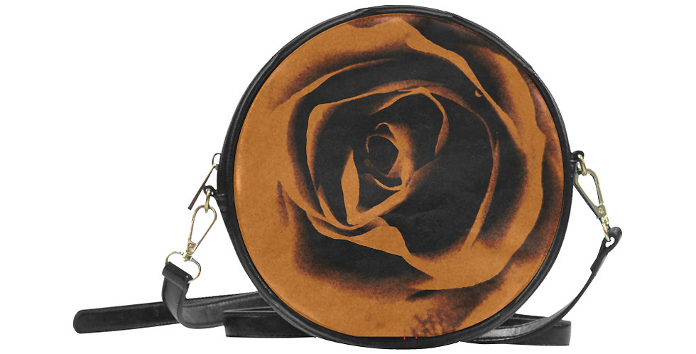 Modern Love - Round Messenger Bag