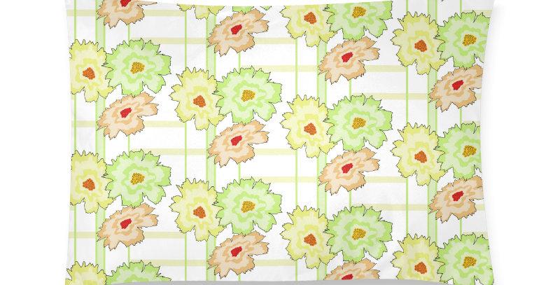 Flower Frenzy peach/lemon/mint - Cushion Cover