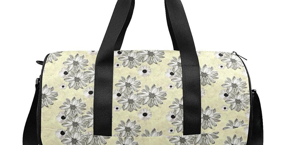 Floral Lemon - Gym / Workout / Camping / Travel Duffel Bag