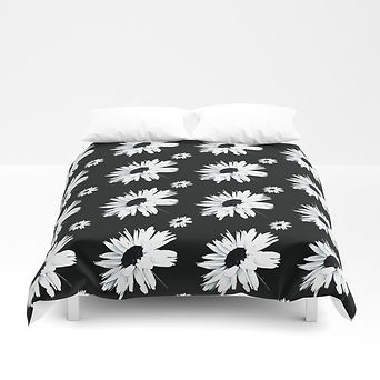 daisy-love-black-and-white-small-print-d