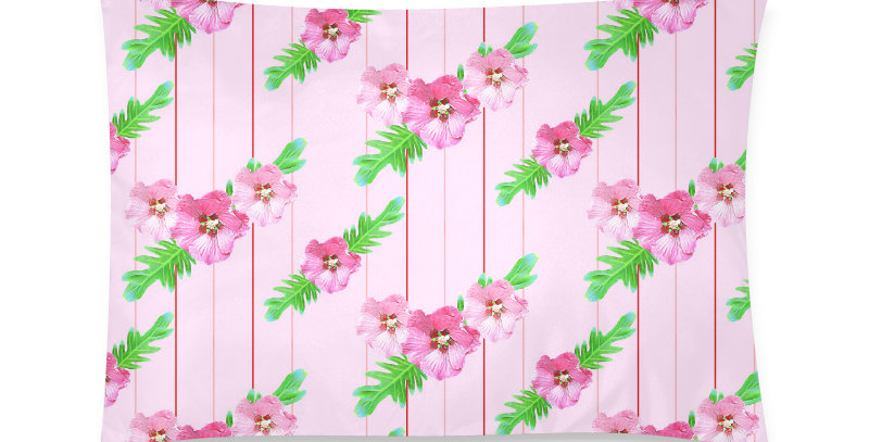 Xanadu (small print pink) - Cushion Cover