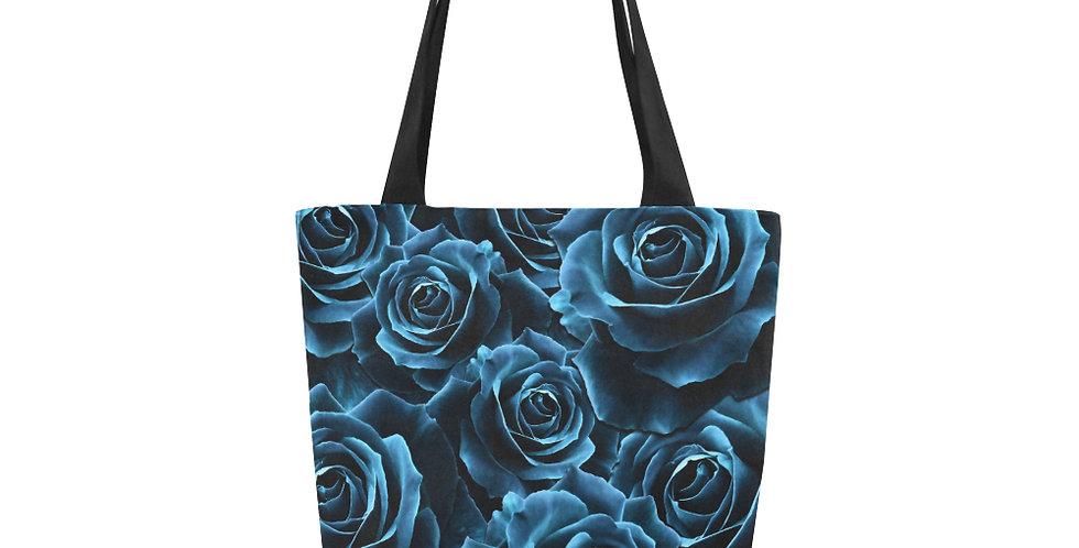 Velvet Roses Blue - Tote Bag