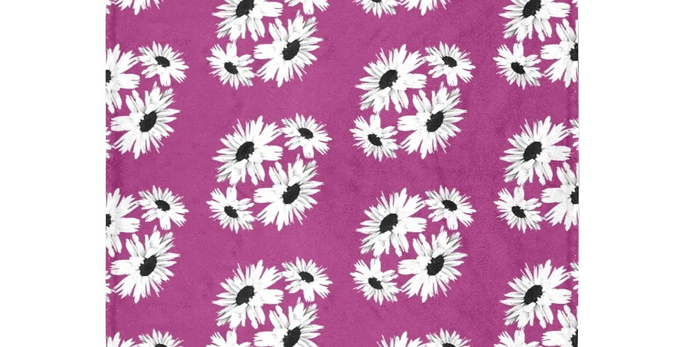 Daisy Love Pink (small print) - Blanket