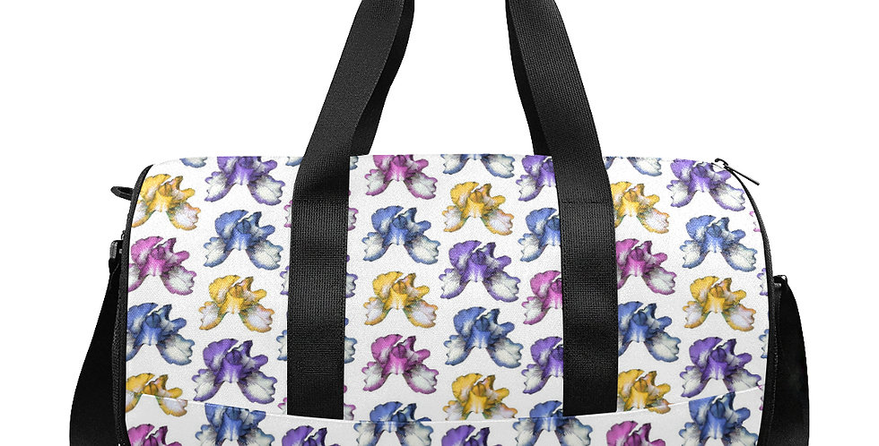 Rainbow Iris - Workout/Camping/Travel Duffel Bag