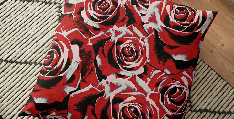 Gypsy Rose Passion - Cushion Cover