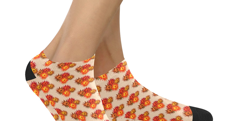 Autumn Flowers - Ankle Socks