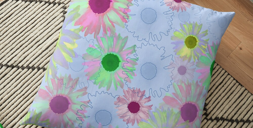 Wildflower Floral - Cushion Cover