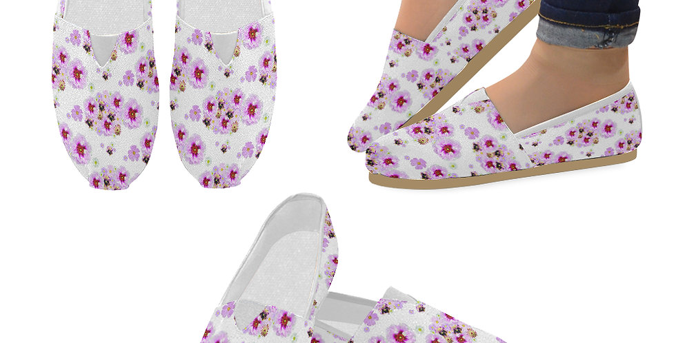 Cotton Candy - Slip On Canvas Shoes