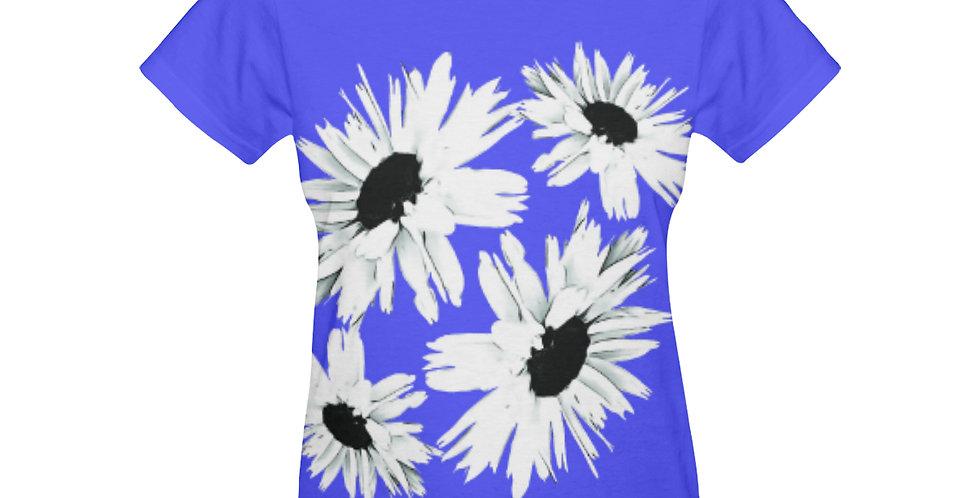 Daisy Love Dark Blue - T-shirt