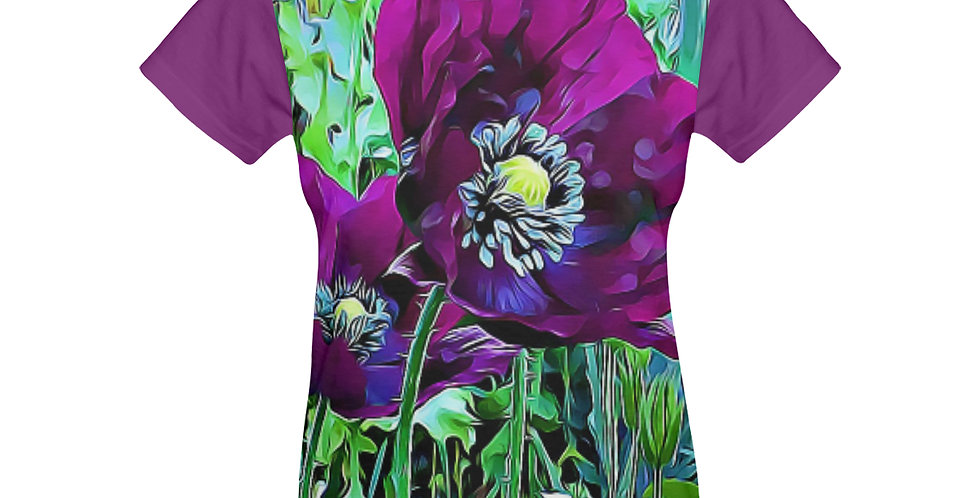 Meadow Poppies Spring - T-shirt