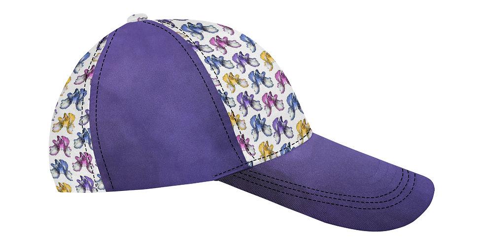 Rainbow Iris Purple - Baseball Cap