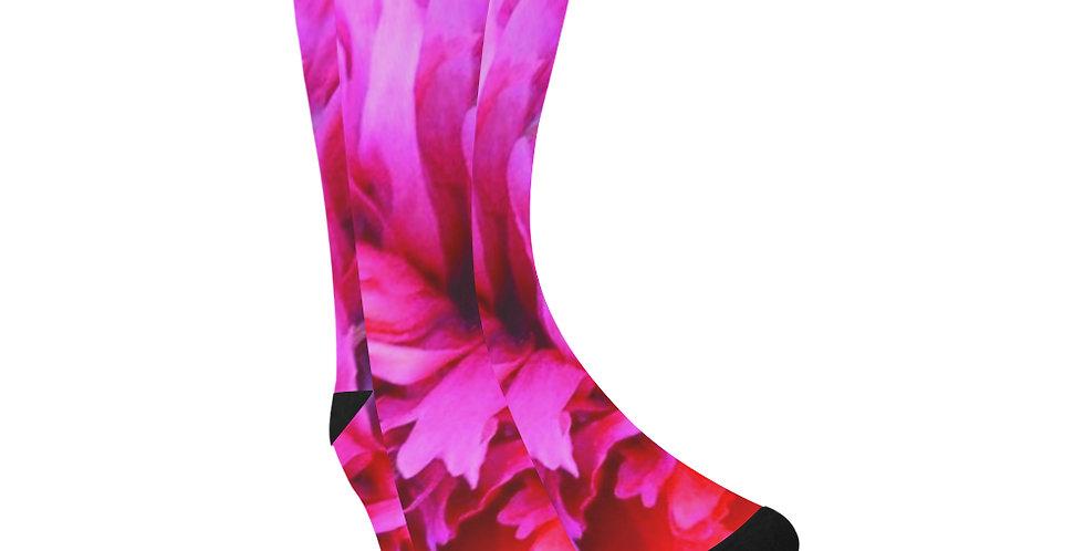 Poppy Crush -  Unisex Socks (Made in Australia)