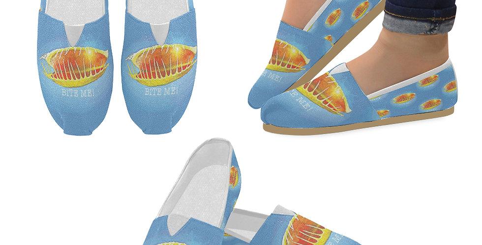 Bite Me - Slip On Canvas Shoes