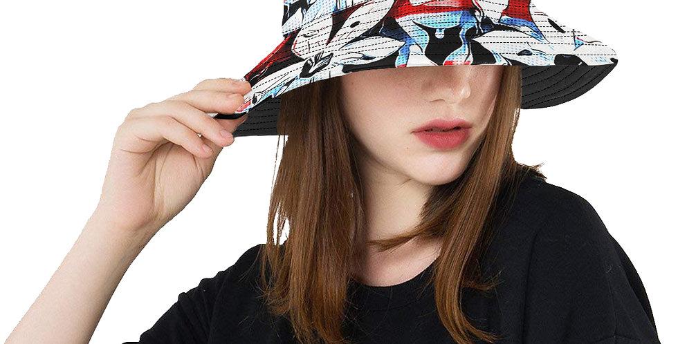 Patriotic Lily - Bucket Hat