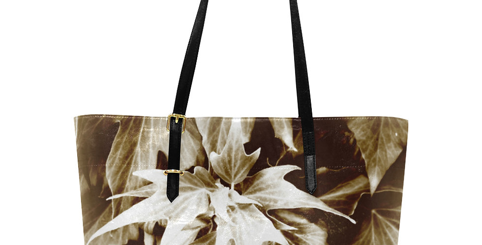 All the Leaves are Brown - Large Tote Bag