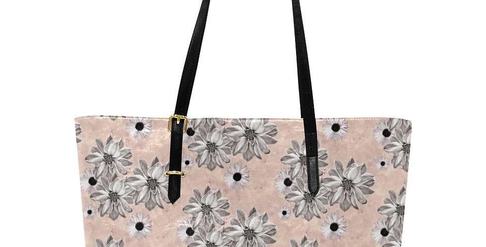 Floral Blush - Large Tote Bag