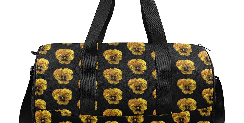 Pansy Tiger - Workout/Camping/Travel Duffel Bag