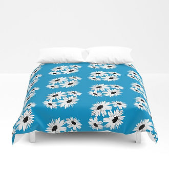bunch-of-daisies-blue-small-print-duvet-