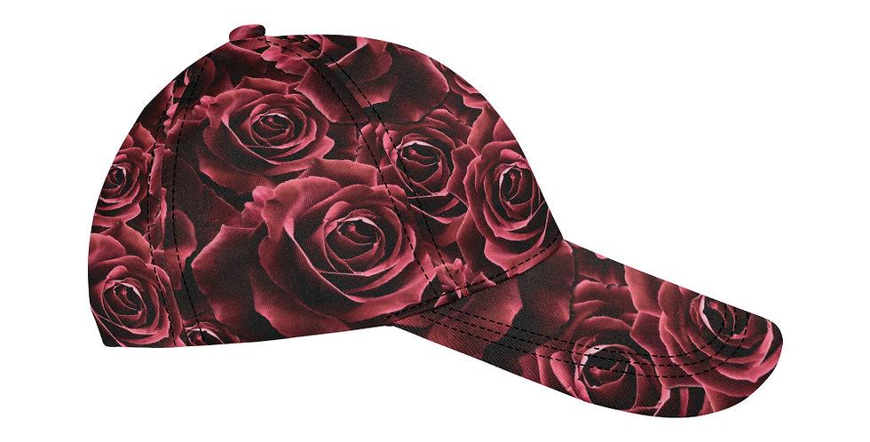 Velvet Rose Red - Baseball Cap